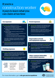 Construction Worker Tax Time Claims - Jorgensen Accountants , Tingalpa